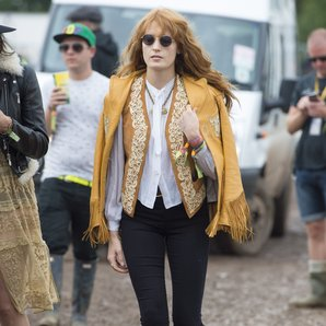 Florence Welch Glastonbury 2014