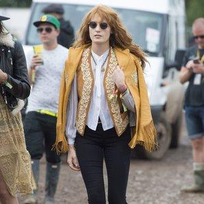 Florence Welch Glastonbury 2014