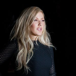 Ellie Goulding Versace Collection Show