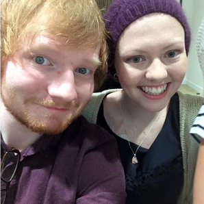 Ed Sheeran and cancer patient fan
