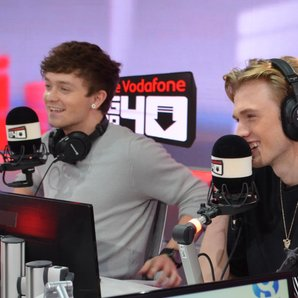 The Vamps Big Top 40 studio