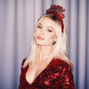 Zara Larsson Instagram New Year's Eve